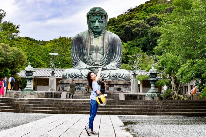 鎌倉大仏殿高徳院の大仏様