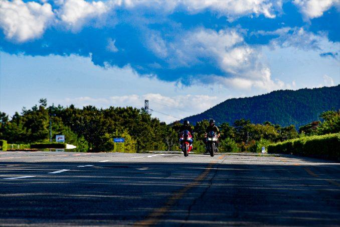南コース横の通称「滑走路」