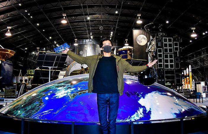 「スペースドーム」の展示