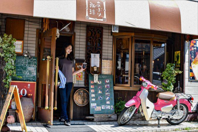 小江戸川越の街並みにはスーパーカブが本当によく似合います